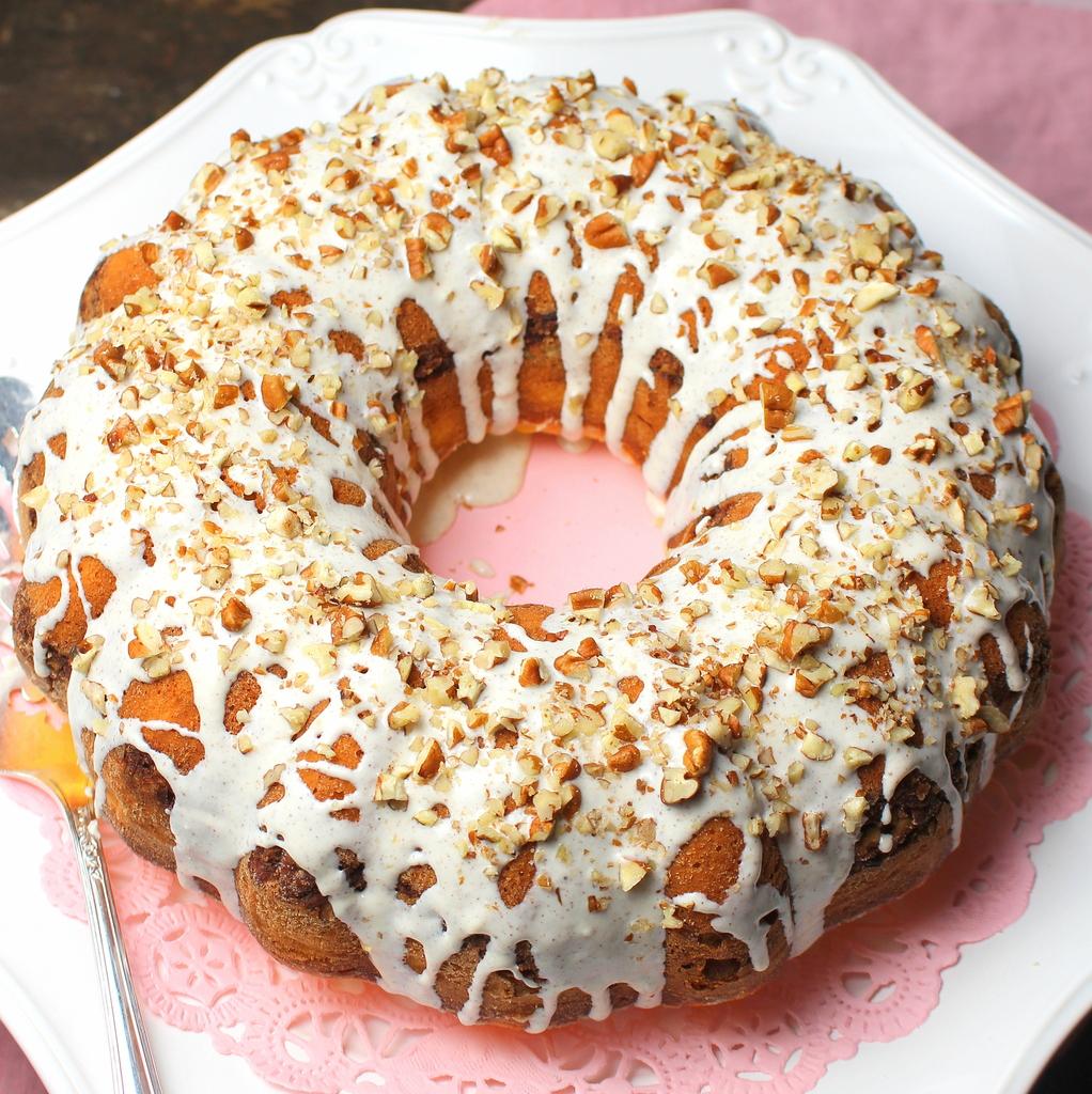 Low Fat Cinnamon Swirl Coffee Cake Recipe