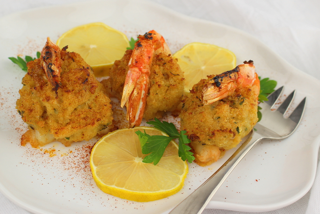Crab Stuffed Shrimp Palatable Pastime Palatable Pastime