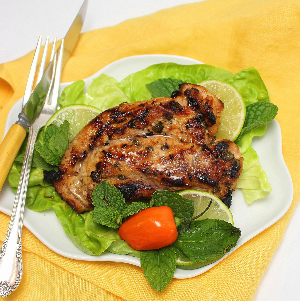 Grilled Mojito Chicken