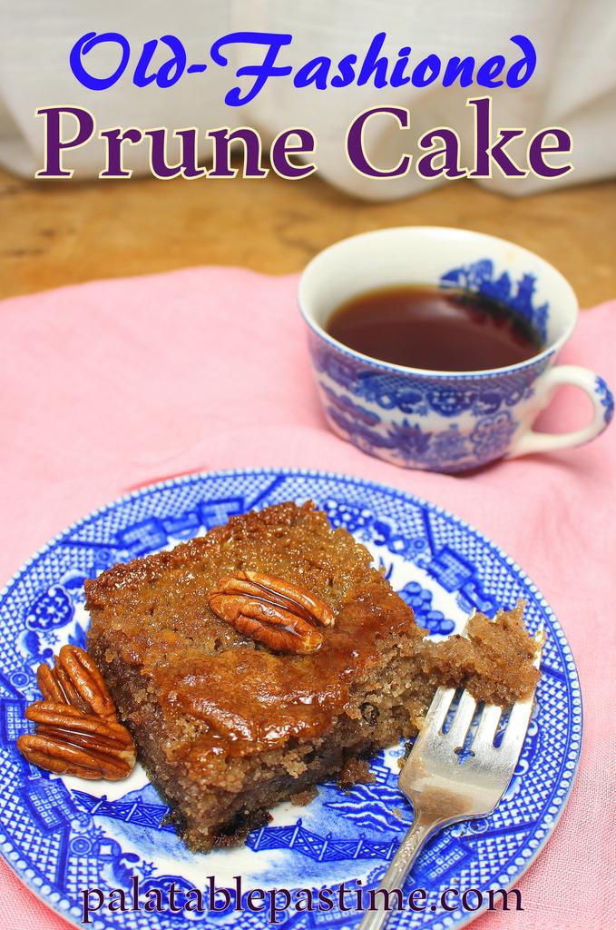 Dried Plums Cake Recipe