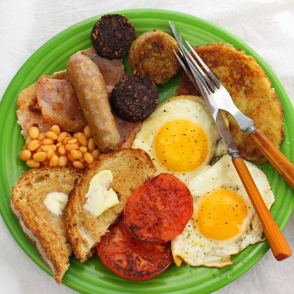 The Ulster Fry Full Monty Breakfast Irish Style For