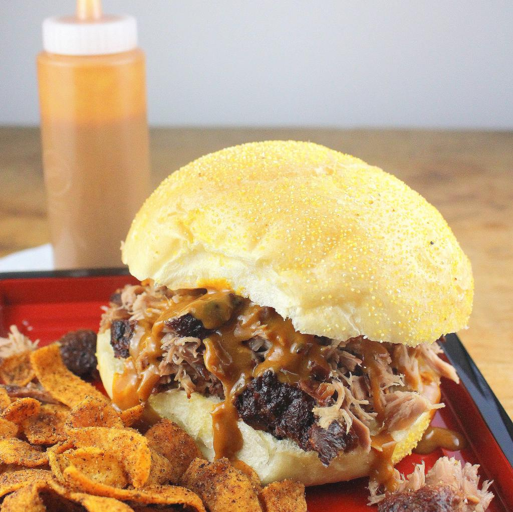 Pulled Pork With South Carolina Mustard Style BBQ Sauce