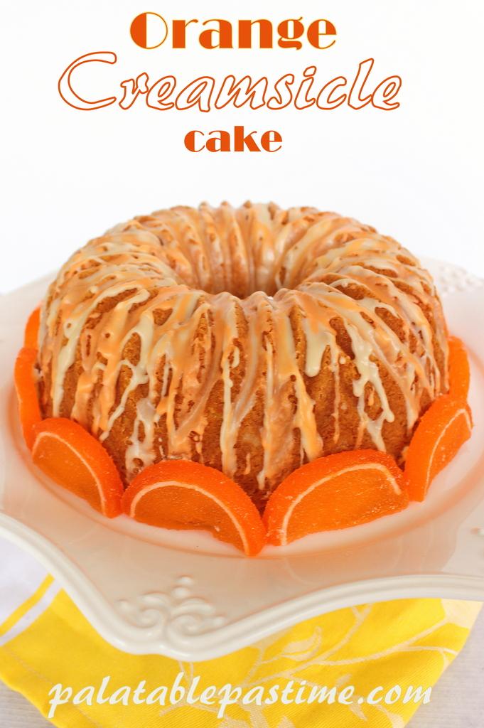 Orange Creamsicle Cake Recipe With Orange Soda