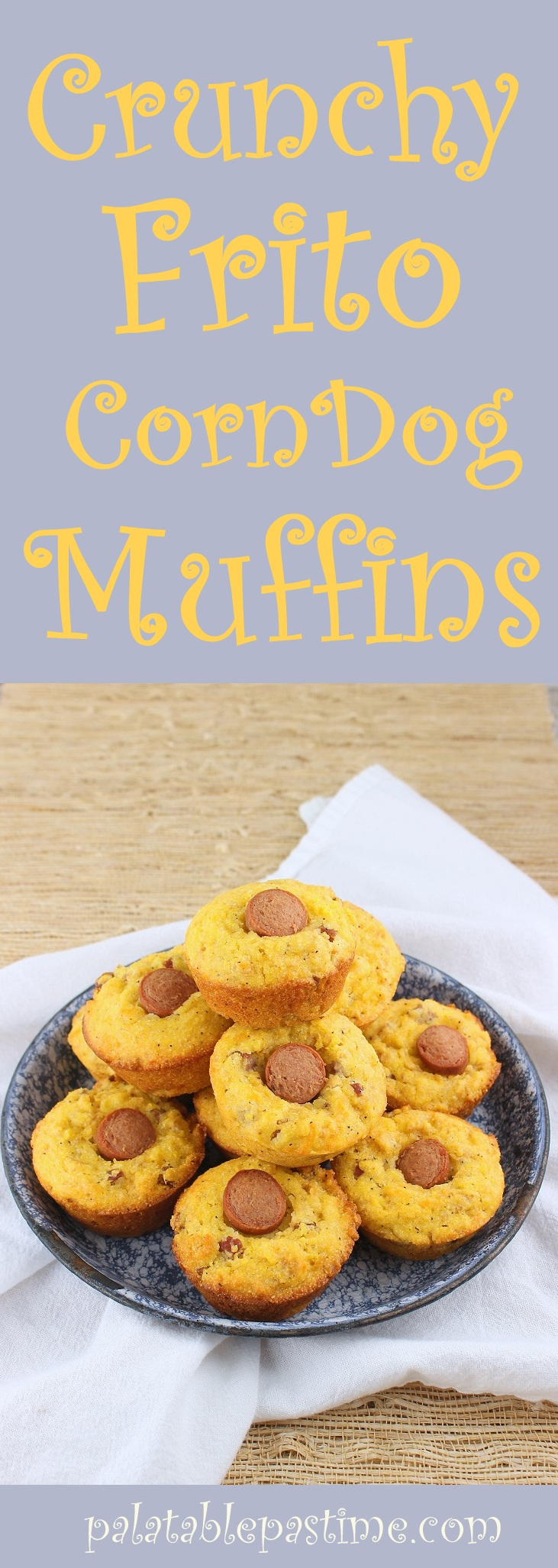 Corn Muffins With Hot Dogs In Them