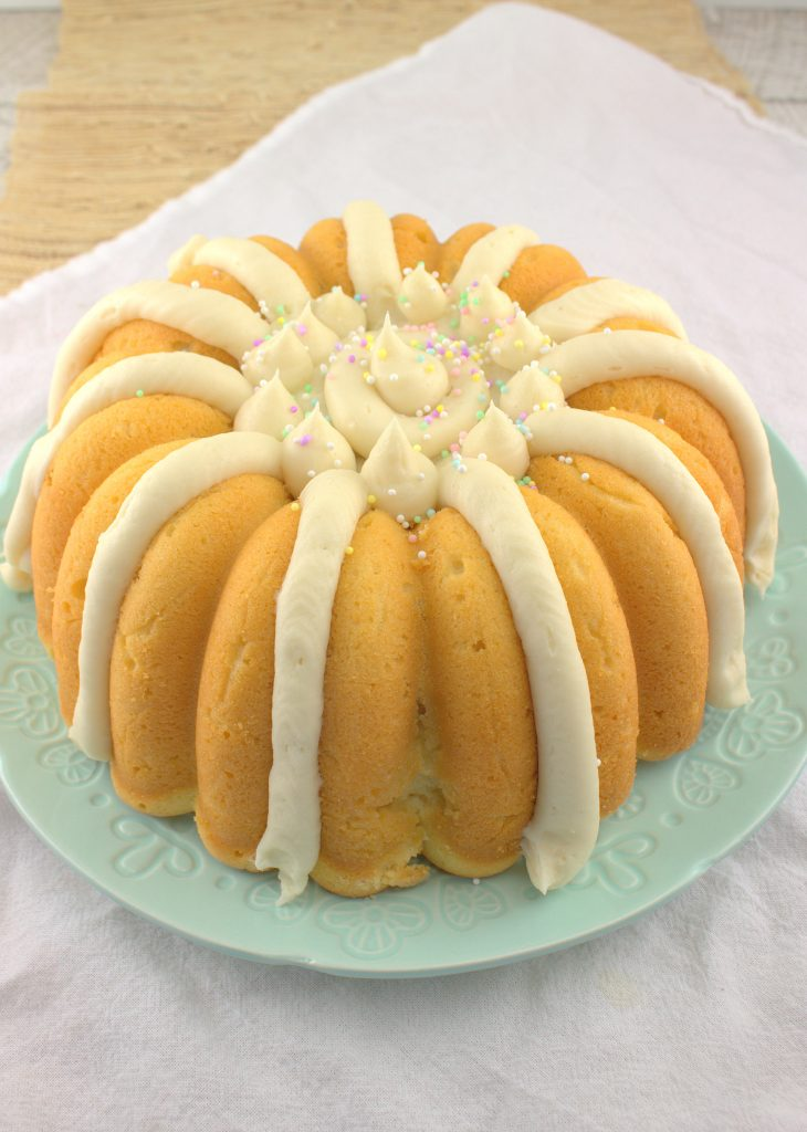 Lemon Bundt Cake With Cream Cheese Frosting Bundtbakers