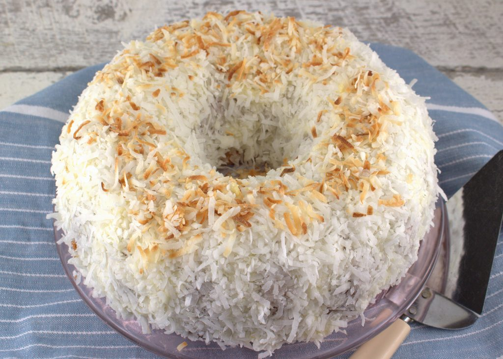 Hummingbird Bundt Cake Coconut