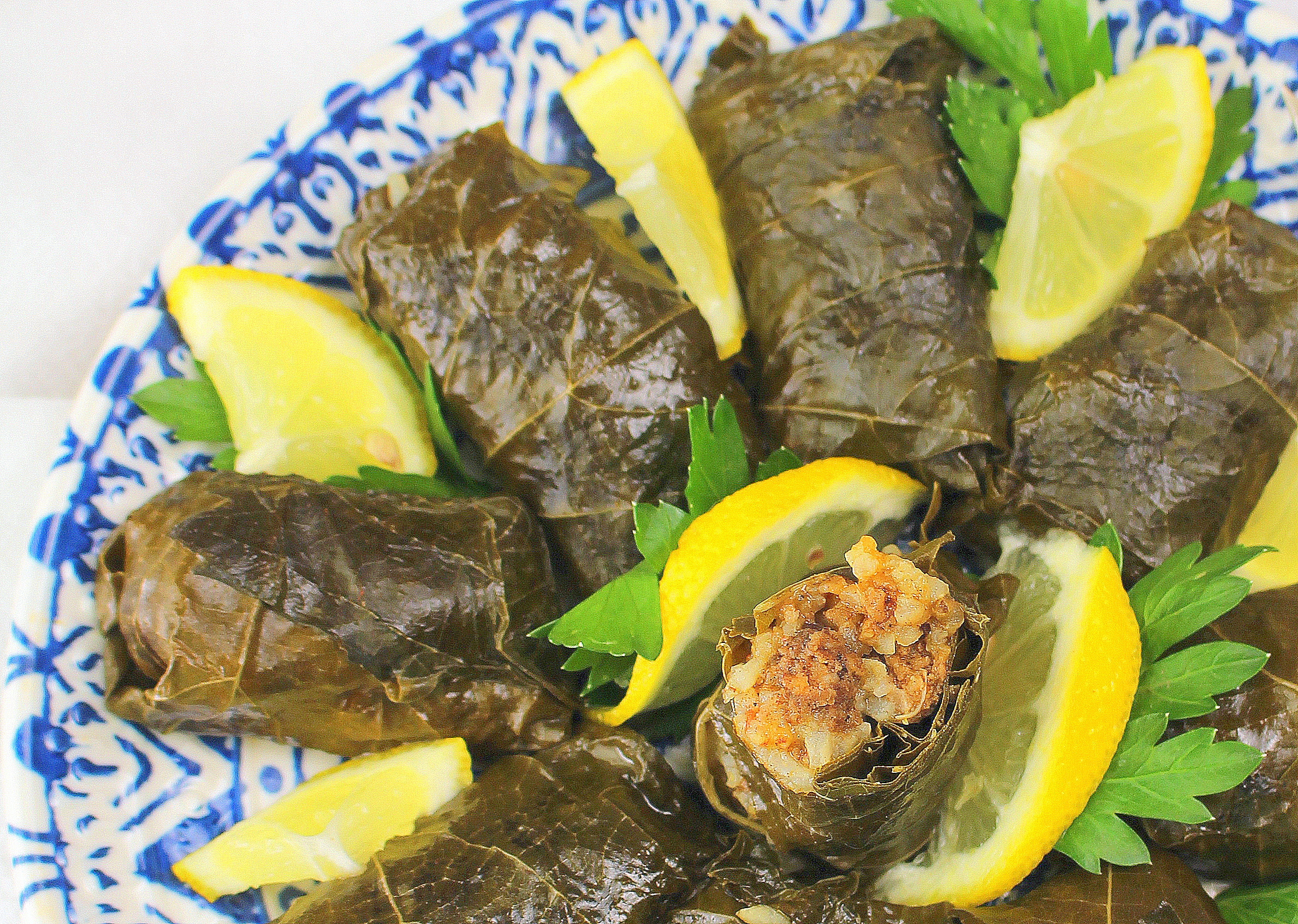 Bedouin Stuffed Grape Leaves
